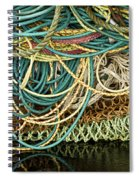 Fishnets And Ropes Spiral Notebook