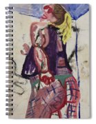 Fishnets In The Shower Spiral Notebook