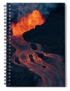 Fissure 8 Spiral Notebook