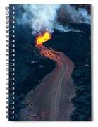 Fissure 8 In Leilani Estates Spiral Notebook