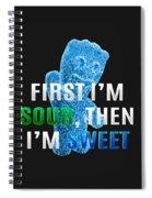 Fist I'm Sour Spiral Notebook