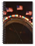 Five Flags Spiral Notebook