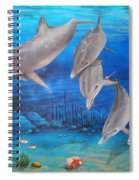 Five Friends Spiral Notebook