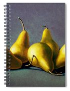 Five Golden Pears Spiral Notebook