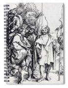 Five Lansquenets And An Oriental On Horseback 1495 Spiral Notebook