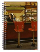 Five Past Six At The Mecca Cafe Spiral Notebook