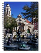Five Points Fountain Spiral Notebook