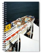 Five Sails And A Ship Spiral Notebook