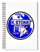 Fix Society Spiral Notebook