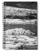 Fjallsarlon Glacier Lagoon Iceland 2348 Spiral Notebook