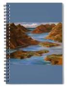 Fjords Of Norwary Spiral Notebook