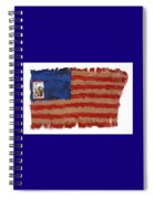 Flag 2 Spiral Notebook
