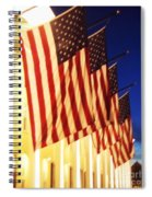 Flag Congress Hall Cape May Nj Spiral Notebook
