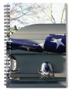 Flag For The Fallen Spiral Notebook