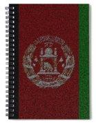 Flag Of Afghanistan Spiral Notebook