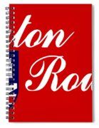 Flag Of Baton Rouge Spiral Notebook