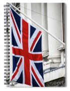 Flag Of Great Britain  Spiral Notebook