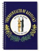 Flag Of Kentucky Wall Spiral Notebook
