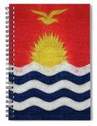 Flag Of Kiribati Texture Spiral Notebook