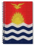 Flag Of Kiribati Wall Spiral Notebook