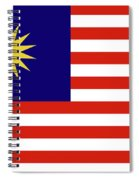 Flag Of Malaysia. Spiral Notebook