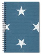 Flag Of Micronesia Wall Spiral Notebook