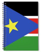 Flag Of  South Sudan  Spiral Notebook