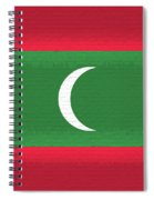 Flag Of The Maldives Wall. Spiral Notebook