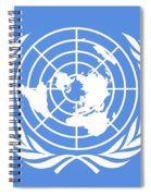 Flag Of The United Nations Spiral Notebook