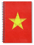 Flag Of Vietnam Grunge Spiral Notebook