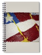 Flag Section Spiral Notebook