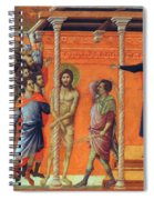Flagellation Of Christ 1311 Spiral Notebook