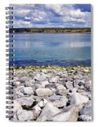 Flaggy Shore Spiral Notebook