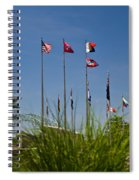 Flags Flags Flags Spiral Notebook