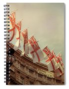Flags Of London Spiral Notebook