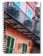 Flags On The Balcony Spiral Notebook