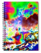 Flamboyant Cloudscape Spiral Notebook