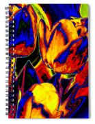 Flamboyant Tulips Spiral Notebook