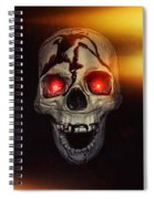Flame Eyes Spiral Notebook