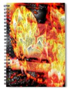 Flame Gems Spiral Notebook