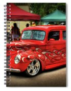 Flame Hot Truck Spiral Notebook