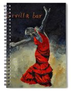 Flamenco 18 Spiral Notebook
