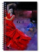 Flamenco 88 Spiral Notebook