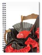 Flamenco Clothing  Spiral Notebook