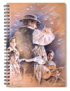 Flamenco Group Spiral Notebook