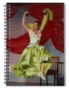 Flamenco Show Nr 2 Spiral Notebook