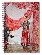 Flamenco Show Nr 4 Spiral Notebook
