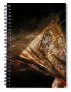 Flamenco Traditional Dance Spiral Notebook