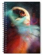 Flamencoscape 02 Spiral Notebook