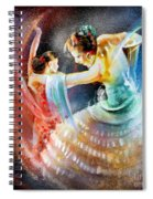 Flamencoscape 06 Spiral Notebook